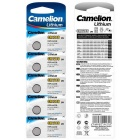 Camelion Lithium CR1216  Button Cell Battery (5 PCS)