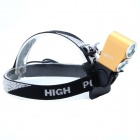 ZhiShunjia ZSJ-B2 1800lm Neutral White 2-LED 4-mode High / Low Beam Bike Headlamp - Golden