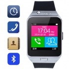 "Aoluguya HW10 Intelligente GSM Watch Phone w / 1,55 ""Bildschirm, Bluetooth, Anti-verlorene, 0.3MP, 128M + 64M -Silber"