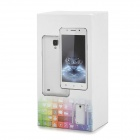 "M4 5.0"" IPS MT6572 Dual-Core Android 4.4.2 Smart Phone w/ 4 go de ROM, Double carte SIM, Double 2.4 MP Cam - Blanc"