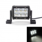 MZ 18W 1530LM 6000K LED Spot Beam Worklight Bar Off-road Lamp 4WD UTV Driving Light w/ Lens