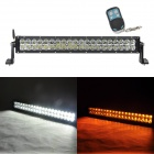 MZ 140W 11700lm White + Yellow Beam LED Worklight Bar Off-road 4WD UTV Lamp w/ Remote Controller