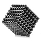 NEJE 5mm Magnetic Balls Beads Sphere Cube Puzzle Neocube Intelligence Toy - Black (341 PCS)