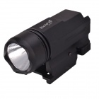 RichFire SF-P07 White Light 200LM 2-Mode LED Tactical Pistol Flashlight - Black (1 x CR123A)