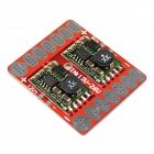 5V 12V Adjustable Voltage BEC Output / ESC Distribution Connection Board - Red