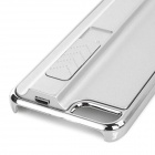 Creative USB Rechargeable Cigarette Lighter Protective Back Case for IPHONE 5 / 5S - Silvery White