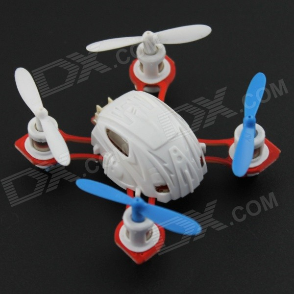 YDL- 9911-1 Super Mini Six Axis 4-CH Gyro 3D 2.4GHz Remote Control Quadcopter - White