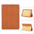 Protective PU Case w/ Stand for Teclast T98 - Brown