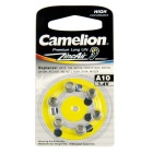 Camelion Zinc Air Hearing Aid Button Cell Size A10 (6 PCS)