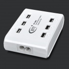 BTY M-561 6 ports USB Super Quick Charger - Blanc (US Plugs)