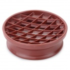 Kitchen Plastic Pineapple Style Bread Mold - Coffee
