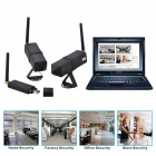 "DG80-2-N 1/5 ""CMOS 0.3MP Audio & amp; Video Recording 2.4GHz Wireless CCTV-Kamera-Kit w / Wi-Fi (NTSC)"