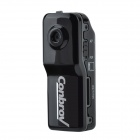 "Conbrov WF81 1/4"" CMOS 0.3MP Portable Sports DV IP Camera Camcorder w/ Wi-Fi / TF - Black"