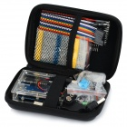 Basic Learning Kit Set for Arduino UNO R3 - Blue + Black + Multi-Colored