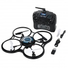 JJRC 600B 2.4GHz 4-Channel R/C Quadcopter Aircraft Toy w/ Hand Launch & Roll Function / Camera / LED