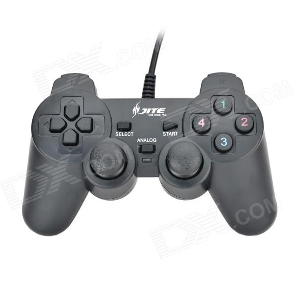USB Gamepad with Analog Sticks and Vibration