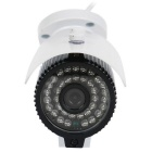 "1 / 2.5"" CMOS 2.0MP 1080P P2P lente de 3.6mm impermeável IP Camera w / 36-IR-LED - Branco + Preto (US Plugs)"