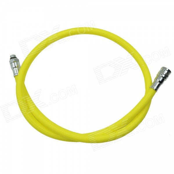 EZDIVE Scuba Diving Nylon Low Pressure Hose for Octopus Octo Regulator 2nd Stage - Yellow (96cm)