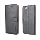 MO.MAT Premium PU Leather Wallet Case w/ Stand/ Card Slot/ Picture Holder for IPHONE 6 - Black