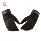 ESDY HYXL-1 Anti-slip Outdoor Cycling Climbing Full-Finger PU Tactical Gloves - Black (XL / Pair)