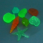 Luminous Stone Fish Tank Landscaping Scenery - Multicolor (8PCS)