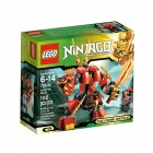 Genuine Lego 70500 Kai's Fire Mech - Orange + Red + Multicolor