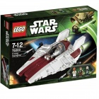 Genuine Lego 75003 A-Wing Starfighter - Silvery White + Multicolored