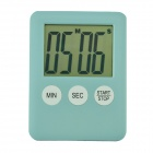 "2"" LCD Power Saving Digital Timer - Light Blue (1 x LR1130)"