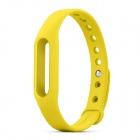 Xiaomi Replacement Silicone Wrist Band for Smart Bracelet - Yellow