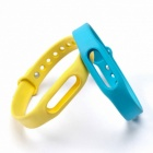 Replacement TPU Wrist Band for Xiaomi Smart Bracelet - Yellow