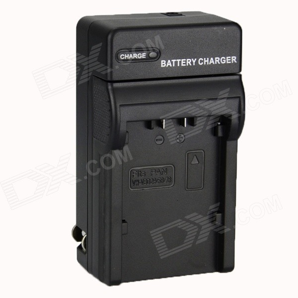 DSTE DC155 US Plug 8.4V VW-VBD29 Battery Charger for Panasonic AC90MC / MDH2 - Black аксессуар защитное стекло samsung g925f galaxy s6 edge caseguru 3d 0 33mm white