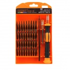 JAKEMY JM-8113 39-in-1 Telecommunications Screwdriver Set - Orange + Black