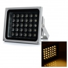 JR-LED impermeable 30W 3000lm 3200K 30-LED Spotlight blanca caliente - gris plateado + Negro (AC 100 ~ 240V)