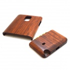 Retro Style Protective Wood Back Case for Samsung Galaxy Note 4 - Brown
