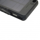 Itian 8000mAh Li-polymer Battery Solar Power Bank - Black
