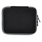 "Protective Faux Suede Sleeve Bag + Small Accessory Bag Set for 13.3"" MacBook Air Pro Retina - Black"