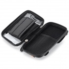 CBR Bike Handlebar Mounted Touch Screen Phone Pouch Case Bag w/ Glare Shield - Black