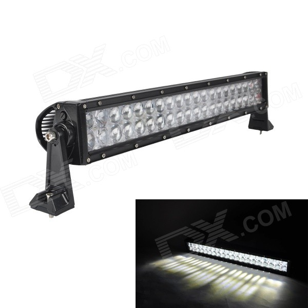 MZ 120W 10200lm LED White Spot + Flood Beam Worklight Bar Off-road 4WD UTV Driving Lamp w/ Lens foxstar 36w led work light offroad 4x4 off road light bar for atv suv truck boat spot flood combo beam 2880lm universal