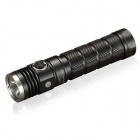 SKILHUNT DS20 480lm CREE XM-L2 U2 5-Mode Cool White Light Memory Flashlight w/ Strap - Black