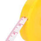 M-15 Retractable Plastic Measuring Tape Rule - Yellow (150cm)