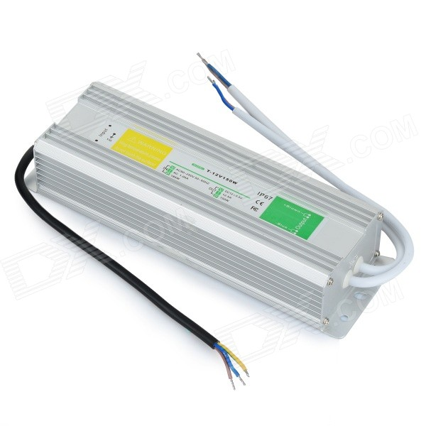 T-12V150W 12V 12.5A Waterproof LED Power Driver - Silver