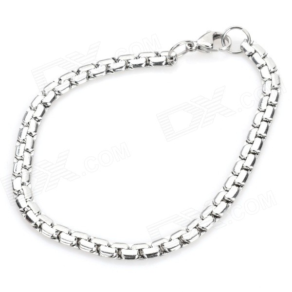 SHIYING BH102104 Men's Stainless Steel Bracelet - Silver 316l stainless steel wire soft diameter 1mm length 5 meter