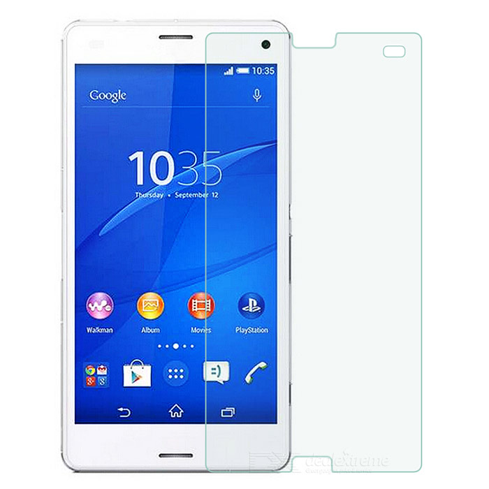 Protective Tempered Glass Screen Protector Film Guard for Sony Xperia Z3 Mini - Transparent