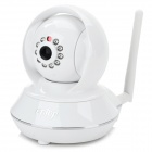 "Ontop RT8808-HD P2P 1/4"" CMOS Wi-Fi HD Wireless Indoor 1.0MP IP Camera w/ 10-IR-LED - White"