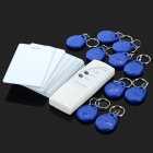 Portable 125KHz EM ID Card Duplicator with Locking Function Kit - White + Blue