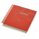 PC Computer Main Board Fault Error Analyzer Tester Diagnostic Card w/ Buzz - Red