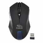 R.Horse RF-6340 2.4G Wireless USB 2.0 LED Gaming Mouse - Black (2 x AAA)