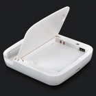2-in-1 Cellphone Charging Dock Station w/ Battery Charger for Samsung Galaxy S3 Mini 18190 - White
