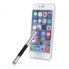 Capacitive / Resistive Touch Screen Stylus w/ Ball Pen - Silver+Black
