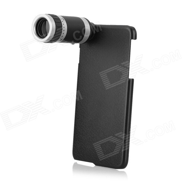 8X Magnification Lens + Back Case Set for IPHONE 6 PLUS - Black + SilverLens &amp; Microscopes<br>Form  ColorBlack + SilverQuantity1 DX.PCM.Model.AttributeModel.UnitMaterialPVCShade Of ColorBlackCompatible ModelsOthers,IPHONE 6 PLUSLens EffectsMicroscopeMagnification8XPacking List1 x 8X lens1 x Case 1 x English user manual 1 x Strap (40cm)2 x Cleaning cloths<br>